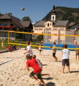 Beachvolley area