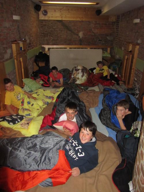 Im Nachtlager der Ratscher