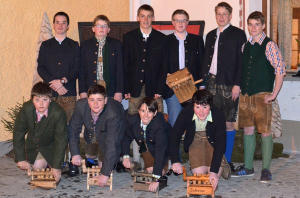 Gruppenfoto der Ratscher