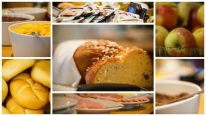 collage breakfast
